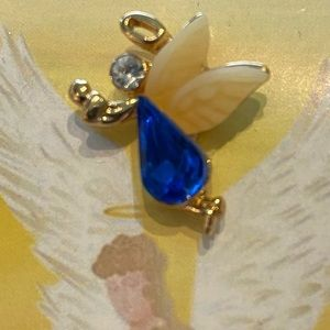 Jewelry - 🆕 (3/$25) NEW Delicate Guardian Angel Pin !!!